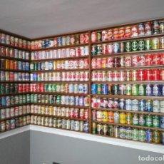 Coleccionismo de cervezas: LATAS CERVEZAS VACIAS 358 DE ESPAÑA DE LOS 80 A LOS 2000. Lote 206434565