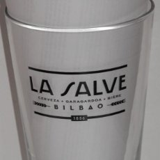 Coleccionismo de cervezas: VASO DE LA CERVEZA LA SALVE. Lote 206512683