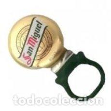 Coleccionismo de cervezas: RING PULL CHAPA O CORONA DE CERVEZA ANILLA SAN MIGUEL, FAB . DAP. Lote 254081085