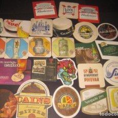 Coleccionismo de cervezas: LOTE DE POSAVASOS DE CERVEZA. Lote 206894980