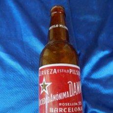 Coleccionismo de cervezas: BOTELLA - BOTELLIN CERVEZA DAMM. Lote 207287895