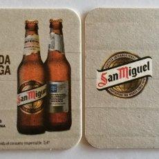 Coleccionismo de cervezas: POSAVASOS SAN MIGUEL MÁLAGA. Lote 207321336