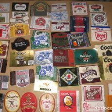 Coleccionismo de cervezas: LOTE 43 ETIQUETAS U.S.A.. Lote 207404457
