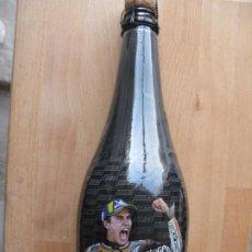 Coleccionismo de cervezas: BOTELLA DE ESTRELLA GALICIA LLENA EDICION ESPECIAL MARC MARQUEZ ALEX MARQUEZ. Lote 224410470