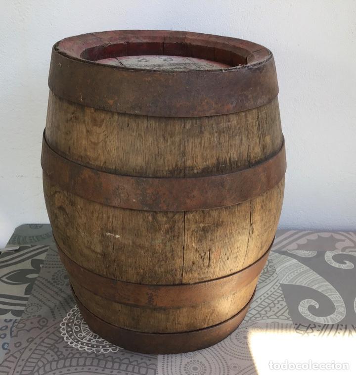 Coleccionismo de cervezas: ANTIGUO BARRIL CERVEZA MORITZ - BARCELONA - ORIGINAL - Foto 2 - 243891860