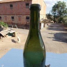 Colecionismo de cervejas: ANTIGUA BOTELLA, ENVASE ANTIGUO VACÍO, CERVEZA PETRY - SENC, BARCELONA, GRABADA AL ÁCIDO. Lote 210259761