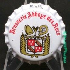Coleccionismo de cervezas: CHAPA O TAPÓN CORONA DE CERVEZA ABBAYE DES ROCS. Lote 210354648