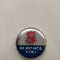 Coleccionismo de cervezas: TAPON CORONA CHAPA BEER BOTTLE CAP KRONKORNEN TAPPI CAPSULE ALKOHOL FREI FAB DKF. Lote 210650732