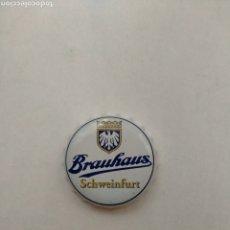 Coleccionismo de cervezas: TAPON CORONA CHAPA BEER BOTTLE CAP KRONKORNEN TAPPI CAPSULE BRAUHAUS SCHWEINFURT FAB RRK. Lote 210651406