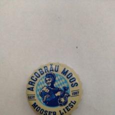 Coleccionismo de cervezas: TAPON CORONA CHAPA BEER BOTTLE CAP KRONKORNEN TAPPI CAPSULE ARCOBRAÜ MOOS MOOSER LIESL FAB RRK. Lote 210653377