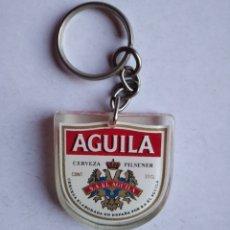 Coleccionismo de cervezas: LLAVERO CERVEZA AGUILA. Lote 212285547