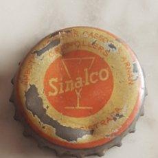 Coleccionismo de cervezas: SINGULAR EMBOTELLADO EN GRANOLLERS CHAPA CORONA TAPON SINALCO. Lote 213621532