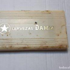 Coleccionismo de cervezas: CEPILLO DE BOLSILLO PUBLICIDAD CERVEZAS DAMM. Lote 213887695