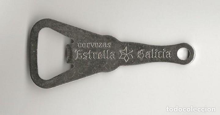 ABRIDOR ESTRELLA GALICIA (Coleccionismo - Botellas y Bebidas - Cerveza )