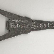 Coleccionismo de cervezas: ABRIDOR ESTRELLA GALICIA. Lote 214525087