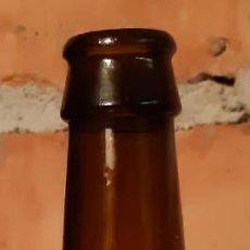 Coleccionismo de cervezas: BOTELLA CERVEZA VACÍA Y SIN CHAPA BIERE BRUNE PATRIATOR SCHUTZENBERGER 1740 ALSACE. Lote 216514948