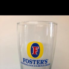 Coleccionismo de cervezas: JUEGO 12 VASOS FOSTER'S. Lote 216599127