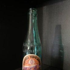 Coleccionismo de cervezas: BOTELLA DE CERVEZA LA ALHAMBRA TERCIO ETIQUETA Y RELIEVE (M3). Lote 217849073