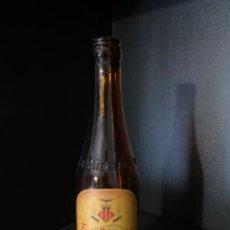 Coleccionismo de cervezas: BOTELLA DE CERVEZA LA HUERTANA TERCIO ETIQUETA RARISIMA. Lote 217849851