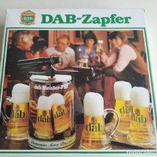 Coleccionismo de cervezas: GRIFO DE CERVEZA CO2. DAB-ZAPFER. NUEVO EN SU CAJA. Lote 218245952