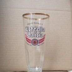 Coleccionismo de cervezas: VASO CERVEZA ESTRELLA GALICIA. Lote 218251823