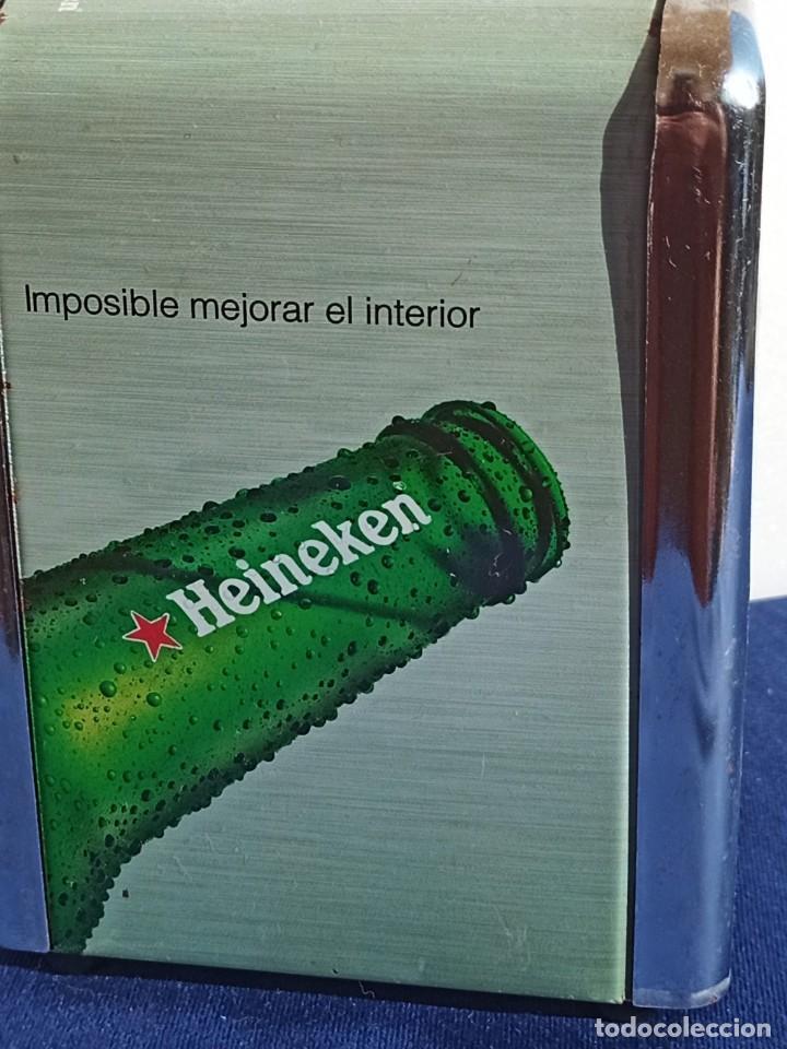 Coleccionismo de cervezas: Servilletero Heineken, 1 piezas - Foto 2 - 218264158