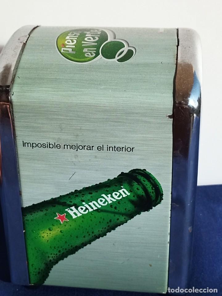 Coleccionismo de cervezas: Servilletero Heineken, 1 piezas - Foto 4 - 218264158