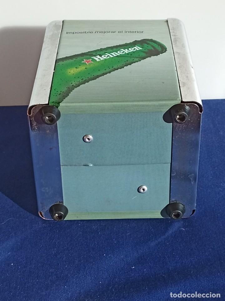 Coleccionismo de cervezas: Servilletero Heineken, 1 piezas - Foto 5 - 218264158