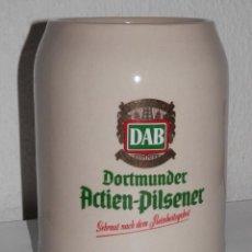 Coleccionismo de cervezas: JARRA DE LA CERVEZA DAB. Lote 218734052