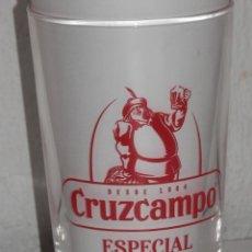 Coleccionismo de cervezas: VASO DE LA CERVEZA CRUZCAMPO. Lote 218898313