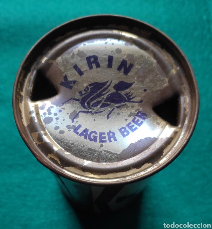 Coleccionismo de cervezas: FLAT TOP KIRIN BEER JAPAN 1960 - Foto 4 - 219972580