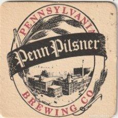 Coleccionismo de cervezas: EE.UU POSAVASOS CERVEZA PENN PILSNER PENNSYLVANIA (EE.UU). Lote 220609758