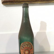 Coleccionismo de cervezas: BOTELLA ANTIGUA ESTRELLA GALICIA.. Lote 221363986