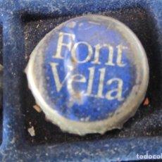 Coleccionismo de cervezas: CHAPA FONT VELLA. Lote 221552817