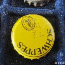 Coleccionismo de cervezas: CHAPA SCHWEPPES. Lote 221555825