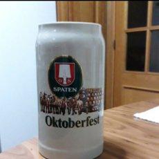 Coleccionismo de cervezas: JARRA 1L. OKTOBERFEST SPATEN. Lote 221562735