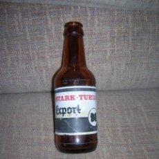 Coleccionismo de cervezas: ANTIGUA BOTELLA DE CERVEZA STARK-TURIA EXPORT DE 20 C.C. (1/5) DE CAPACIDAD, ETIQUETA DE PAPEL.. Lote 221569015