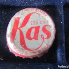 Coleccionismo de cervezas: CHAPA KAS. Lote 221649056