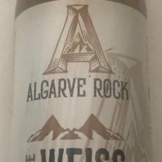Coleccionismo de cervezas: BOTELLA DE CERVEZA ALGARVE ROCK SURE WEISS PORTUGUESA. VACÍA.. Lote 221671390