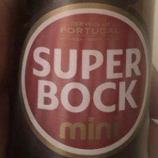 Coleccionismo de cervezas: BOTELLA DE CERVEZA SUPER BOCK MINI. PORTUGAL. VACÍA.. Lote 221671806