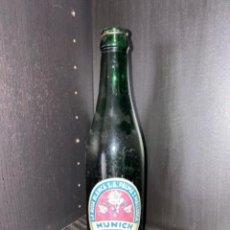 Coleccionismo de cervezas: BOTELLA DE CERVEZA LA ROSA BLANCA ETIQUETA 2 (RAREZA). Lote 221941516