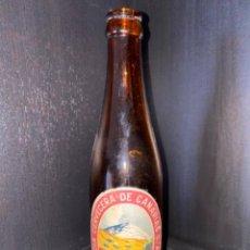 Coleccionismo de cervezas: BOTELLA DE CERVEZA CCC CANARIAS ETIQUETA ROJA (RAREZA). Lote 221942970