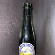 Coleccionismo de cervezas: BOTELLA DE CERVEZA CCC CANARIAS ETIQUETA AZUL (RAREZA). Lote 221943323