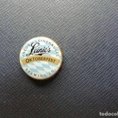 Coleccionismo de cervezas: CHAPA USA, TAPÓN CORONA DE LA CERVEZA LEINIE'S OKTOBERFEST. VER DESCRIPCIÓN.. Lote 236633205