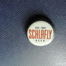 Collectionnisme de bières: CHAPA USA, TAPÓN CORONA DE LA CERVEZA SCHLAFLY BEER. VER DESCRIPCIÓN.. Lote 222125782