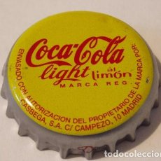 Coleccionismo de cervezas: CHAPA COCA-COLA LIGHT AL LIMON, MADRID. FACTORIA Z. Lote 222282795