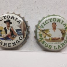 Coleccionismo de cervezas: TAPONES CORONA DE CERVEZA VICTORIA DE MÁLAGA. Lote 222299438