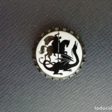 Coleccionismo de cervezas: CHAPA TAPÓN CORONA NUEVO DE LA CERVEZA ARTESANA ESPAÑOLA SANT JORDI. VER DESCRIPCIÓN.. Lote 222992976