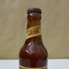 Coleccionismo de cervezas: BOTELLIN DE CERVEZA EL AZOR SIN ABRIR. Lote 223876881