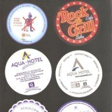 Coleccionismo de cervezas: 1 LOTE DE 10 POSAVASOS USADOS. Lote 224975373